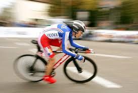 ciclista veloz