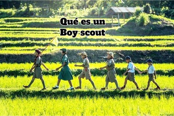 Qué es un Boy scout