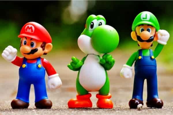 personajes de videojuego